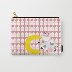 c for cow Carry-All Pouch