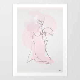 L'éternelle idole Art Print