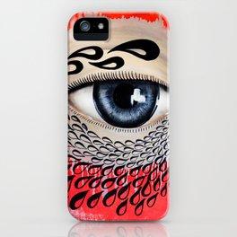 Tears Flow iPhone Case
