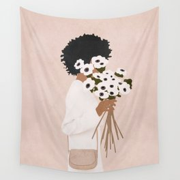 Bouquet of Flowers Wall Tapestry