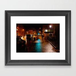 Night-time in Krakow 3 Framed Art Print