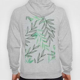 Green pattern Hoody