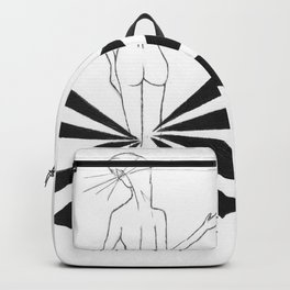 B.knees, oh please by riendo Backpack