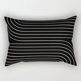 Minimal Line Curvature II Rectangular Pillow