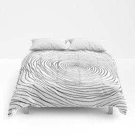 Spiral Rings Comforters