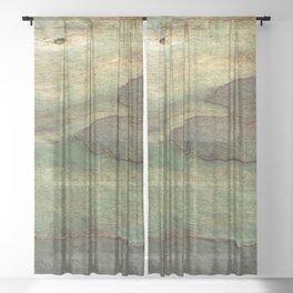 Eucalyptus Tree Bark 6 Sheer Curtain