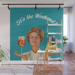 Weekend Plans Wall Mural