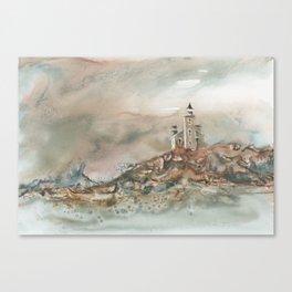 Granite Island Lighthouse Canvas Print