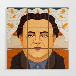 Diego Rivera Wood Wall Art