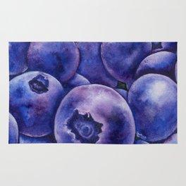 Fresh Blueberries Rug