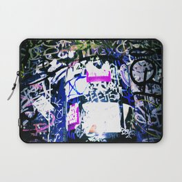 Bathroom Graffiti Laptop Sleeve