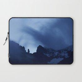 Mont Blanc Massif at night Laptop Sleeve