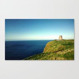 Distant Castle Canvas Print