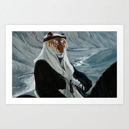 Sheikh Art Print