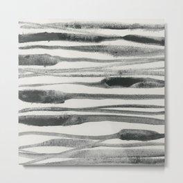 Abstract Line No. 81 Metal Print