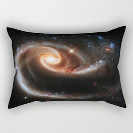 A Rose Made of Galaxies Rectangular Pillow