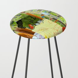 Little Red Fox Counter Stool