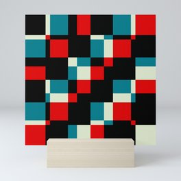"Trendy Zeitgeist Geometric ""Saci"" Mini Art Print"