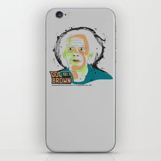 Doc Brown_INK - Back to the Future iPhone & iPod Skin