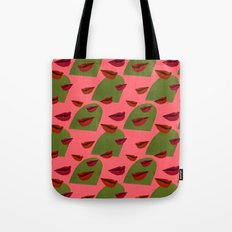 retro lips (2) Tote Bag
