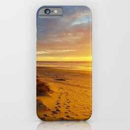Cannon Beach Oregon at Sunset Haystack Rock iPhone Case
