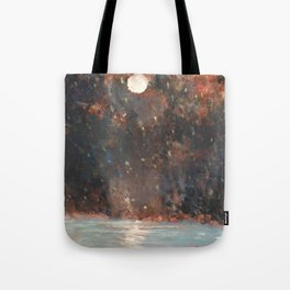 Luna Estelar Tote Bag
