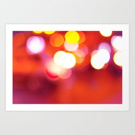 Red Hot Art Print