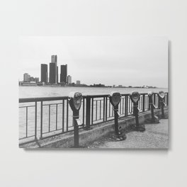 love detroit. Metal Print