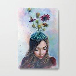 Pollination Metal Print