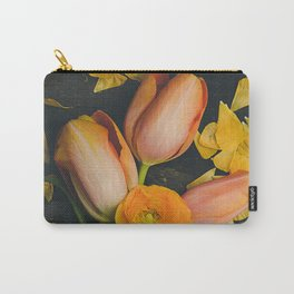 Spring Tulip Flowers Carry-All Pouch