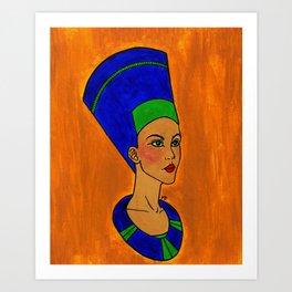 Beauty of the Queen Art Print