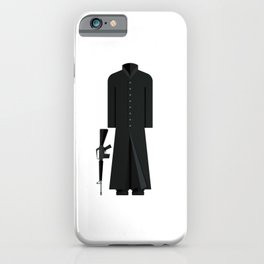 The Matix Outfit Minimal Sticker iPhone Case
