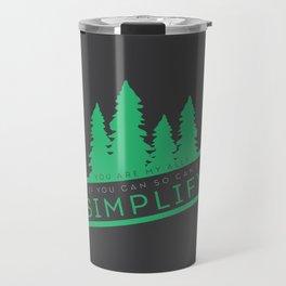 Brendan James,Simplify Travel Mug