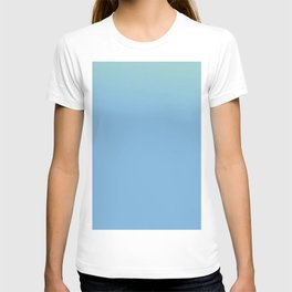 Ombre in Light Blue T-shirt