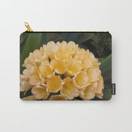 Clivia Apricot Carry-All Pouch