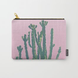 Wild Cactus Pink Carry-All Pouch