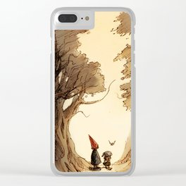 Wirt, Greg, and Beatrice Clear iPhone Case