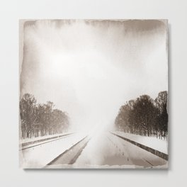 In the Distance I Metal Print