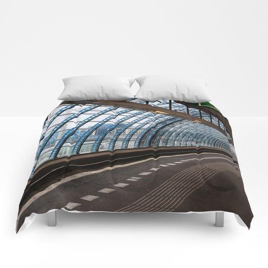 railway station Amsterdam Sloterdijk Comforters