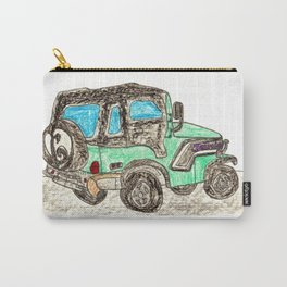 Jamie's Jeep Carry-All Pouch