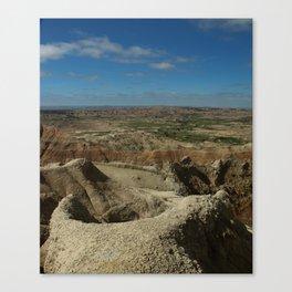 Amazing Badlands Overview Canvas Print