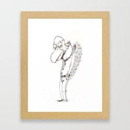 Hipster Framed Art Print