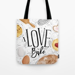 I love bake Tote Bag