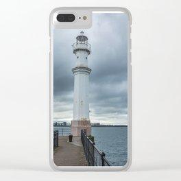 Light Tower in Edingburgh Clear iPhone Case