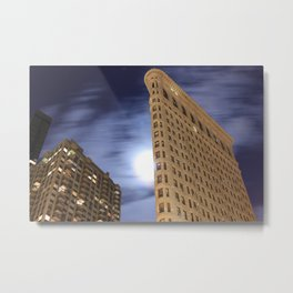 Flatiron Building/30 Seconds Metal Print