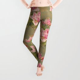 Roses n Rust Leggings