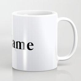 109. Mrs Coffee Mug