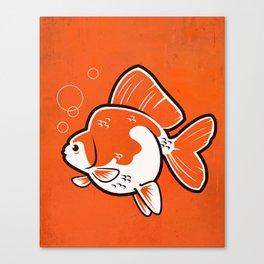 Ryukin Goldfish Canvas Print