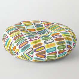 lozenge pearl Floor Pillow