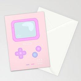 Pastel Game Boy Stationery Cards